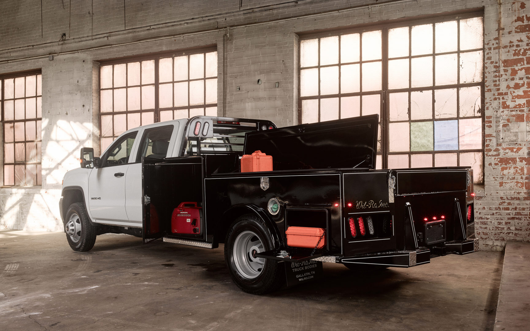 Utility Truck Beds | Wil-Ro Truck Bodies